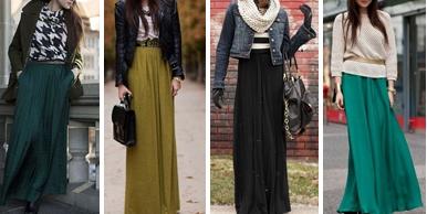 Длинные юбки 2016 года модные тенденции фото
