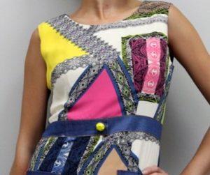 одежда в стиле пэчворк фото
