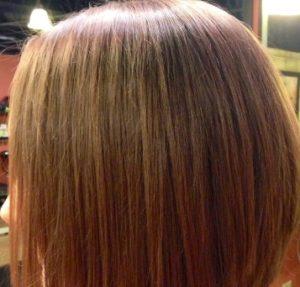 стрижка боб каре на длинные волосы фото вид сзади